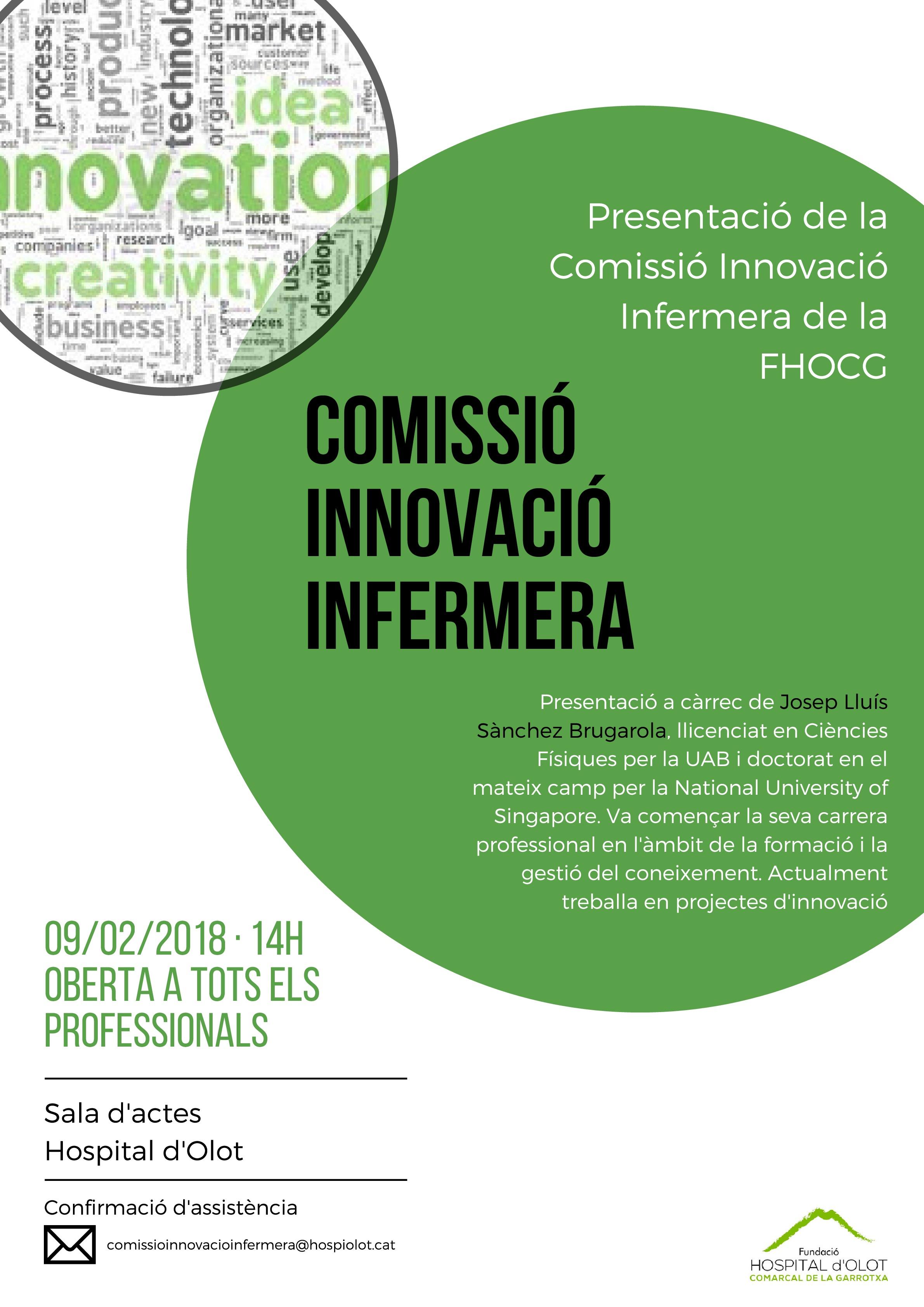 Comissió Innovació Infermera