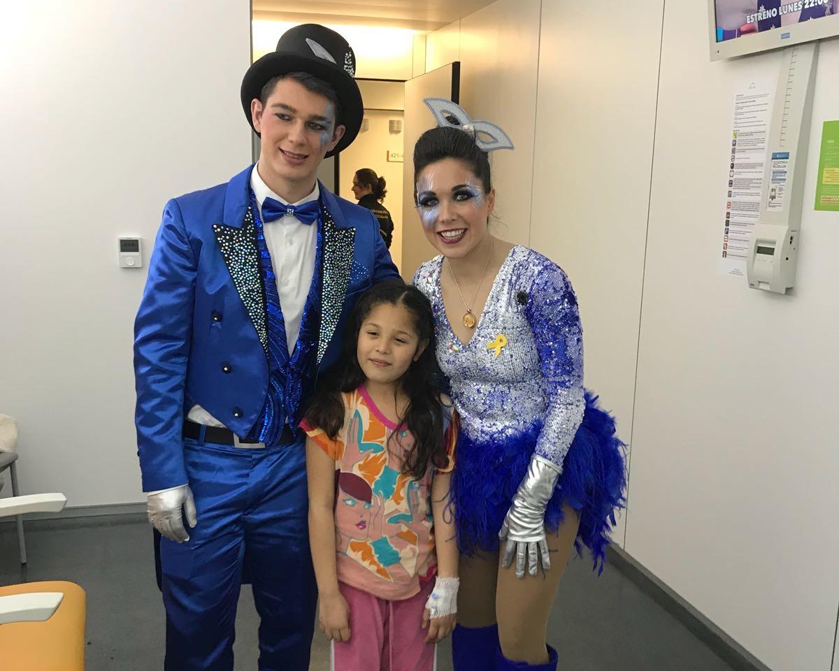 Visita reis carnaval pediatria