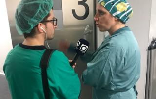 Dia Mundial de la Ràdio visita quiròfan
