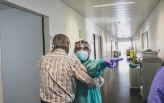 Unitat d'hospitalització habilitada per a pacients amb COVID-19